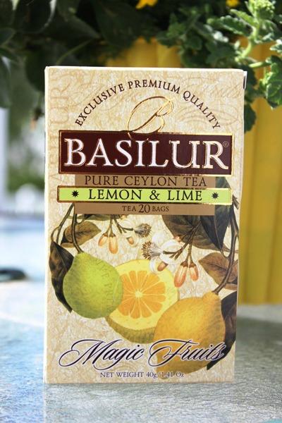 Basilur Lemon Lime Tea