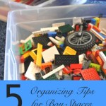 5 Organizing Tips for Boy Spaces