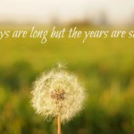 Slow Down & Enjoy the Journey