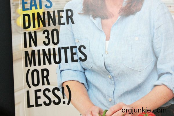 Dinner in 30 minutes (or less!)...new cookbook out by Jessica Fisher!! Win one for yourself