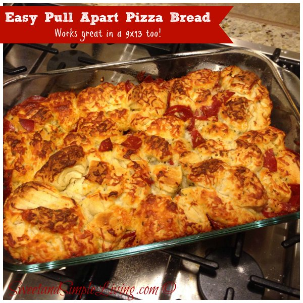 Easy-Pull-Apart-Pizza-Bread
