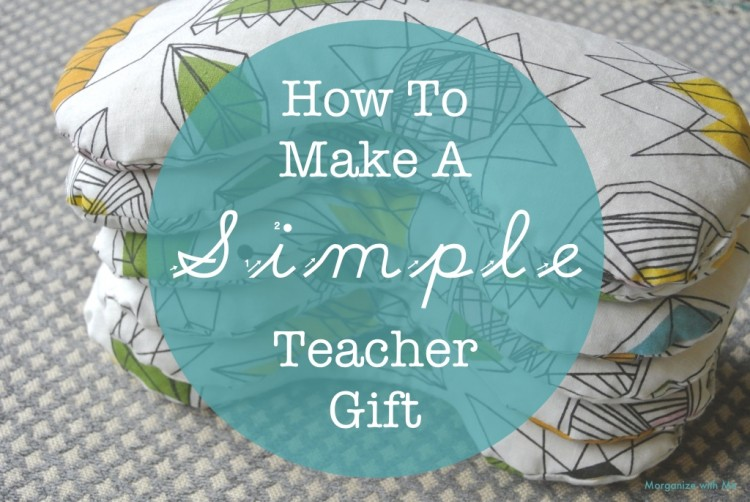 How To Make A Simple Teacher Gift - love this!