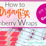 How to Organize Jamberry Wraps