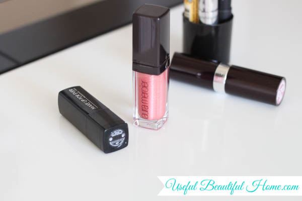 how to store narrow lip products upright