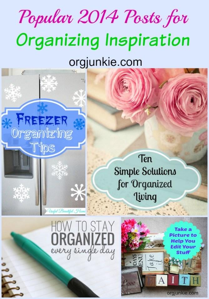Popular Organizing Posts of 2014