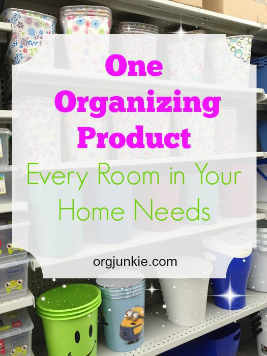 One organizing product every room in your home needs