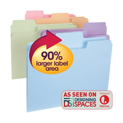 supertab oversized tab file folders