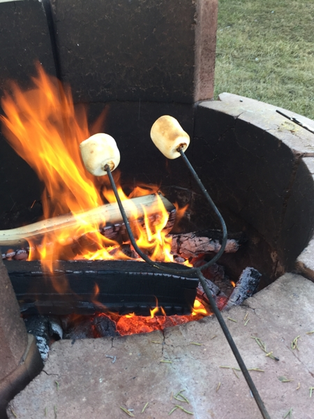 first marshmallow roast
