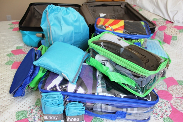 EZ Packing Cubes 1