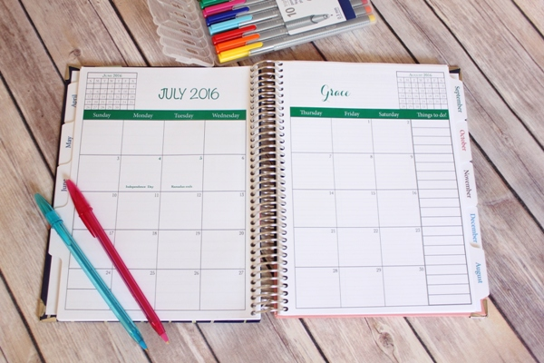 Simply Yours Day Planner 3