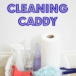 Organized Cleaning Caddy