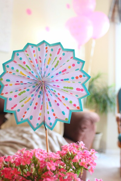 polka dot party decorations