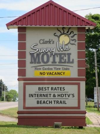 Clark's Sunny Isle Motel PEI
