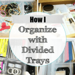 How To Get Organized With Divided Containers