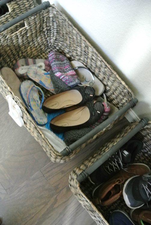 shoe-basket-in-organized-entryway