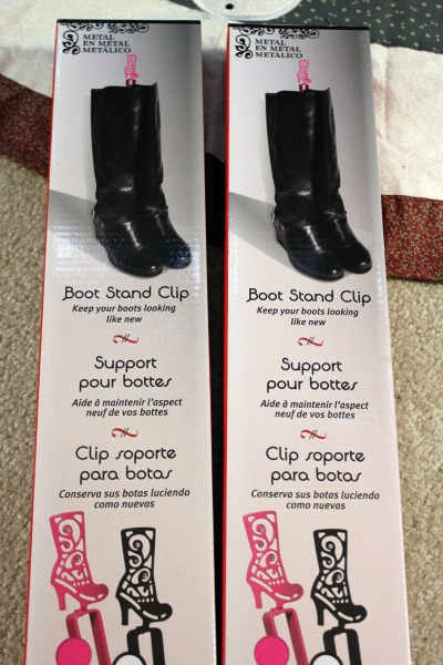 boot stand clips