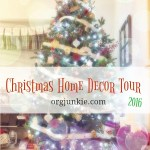 2016 Christmas Home Decor Tour