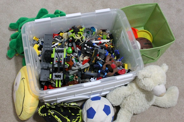 Pre-Christmas Toy Purge