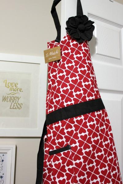 Pretty apron
