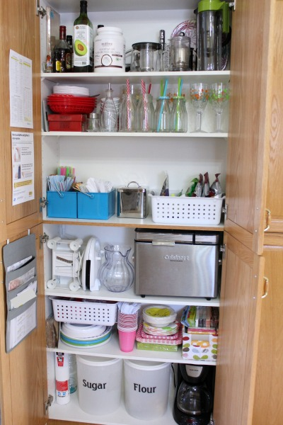 kitchen storage after