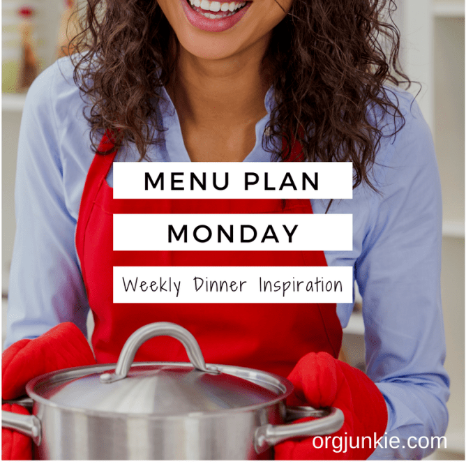 Menu Plan Monday - weekly dinner inspiration for the week of March 20/17 - dinner without stress and chaos