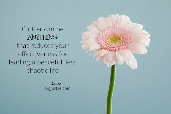 definition of clutter