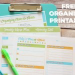 Free Printables for an Organized Day and Week!