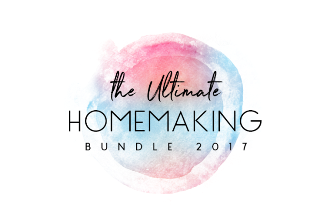 6 organizing eBooks I recommend from the Ultimate Homemaking Bundle