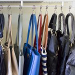 An Easy & Inexpensive Way to Organize All Your Purses In Your Closet