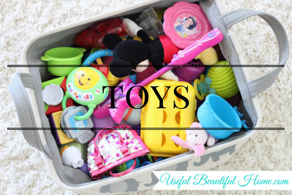 7 kids zones for spring cleaning - toys