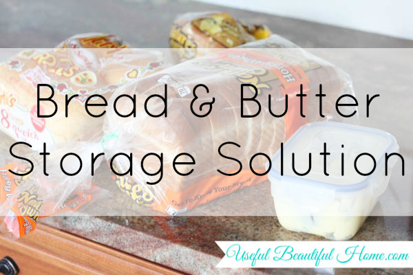 Bread and Butter Storage Solution