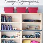 DIY Garage Organization