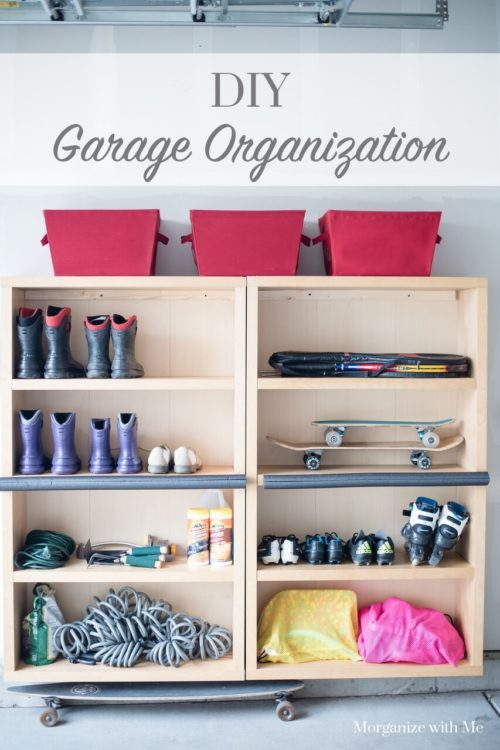 DIY Garage Organization at I'm an Organizing Junkie blog