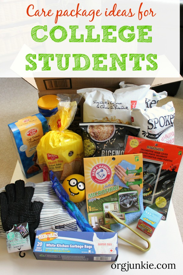 Care Package Ideas For Your College Kids 3 Essential Elements