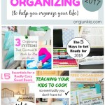 My 2017 Popular Organizing Posts