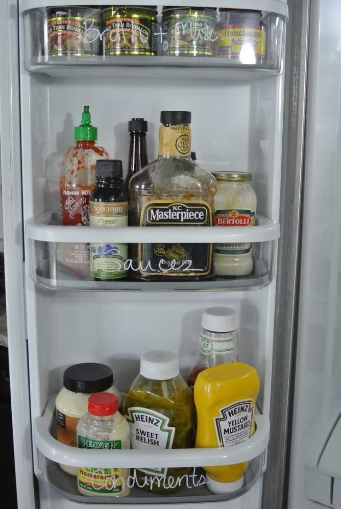 Foolproof Formula for Fridge Organization at I'm an Organizing Junkie blog