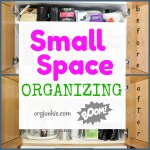 Small Organized Spaces: Coffee Cabinet