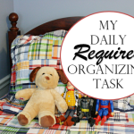 My Daily Required Organizing Task