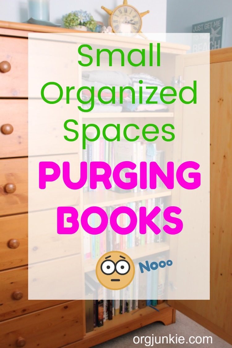 Small Organized Spaces: Purging Books