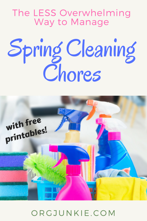 The Less Overwhelming Way to Manage Spring Cleaning Chores