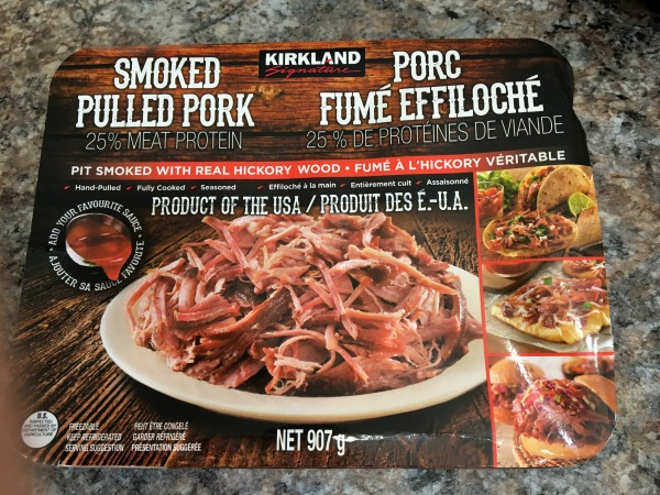 Costco pulled pork