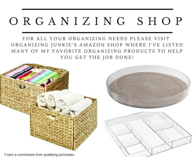 Org Junkie's Organizing Shop