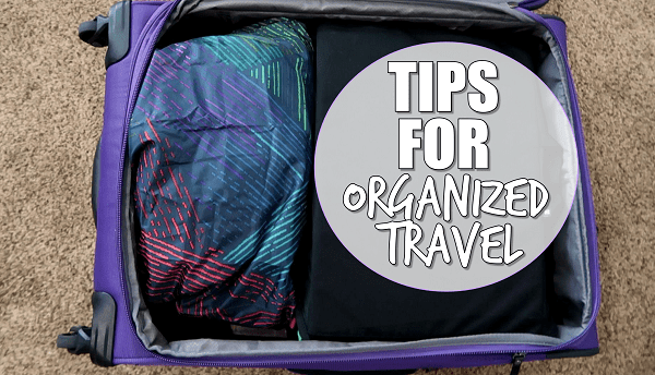 How To Pack for an Organized Vacation at I'm an Organizing Junkie blog