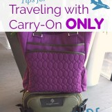 Traveling with Carry-On Only