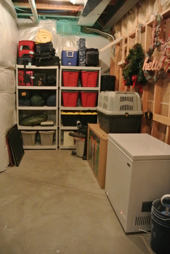 3 Great Organizing Solutions for Storage Areas at Im an Organizing Junkie blog