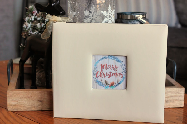 Christmas Card Photo Album