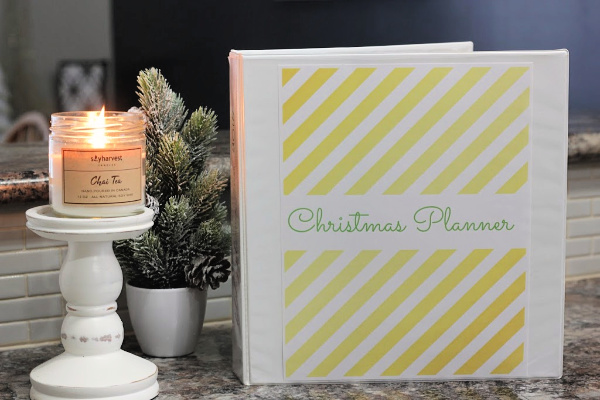 Getting holiday stuff done - Christmas planner