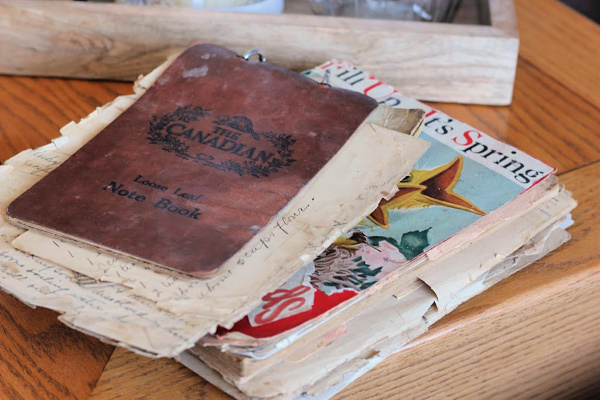 old recipe books