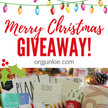 Merry Christmas Giveaway!