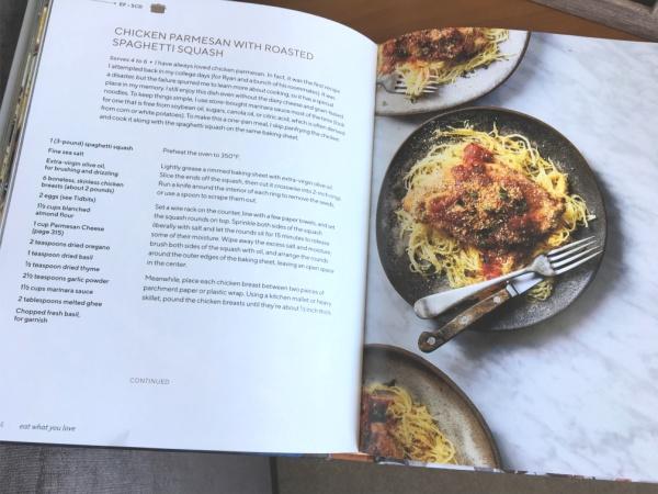Danielle Walker's Eat What You Love cookbook